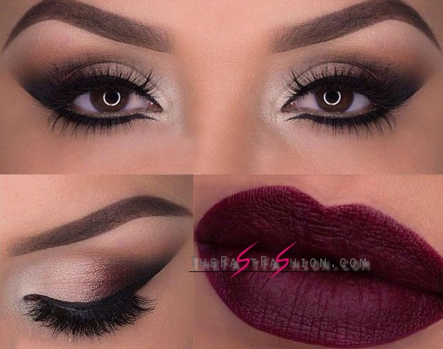 Bold Lips And Smokey Eyes