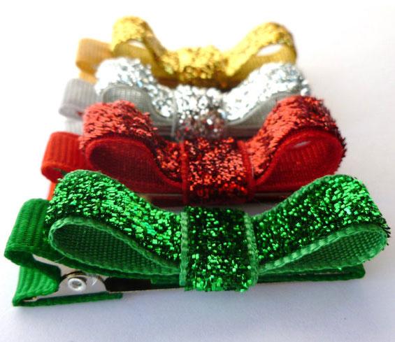 christmas-glitter-hair-bows