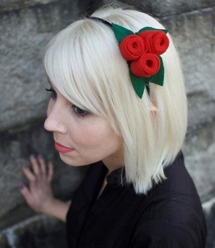 christmas-red-flower-headband