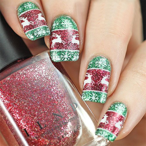 best-christmas-nail-art-ideas