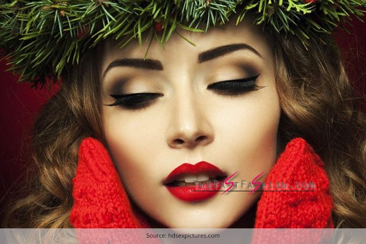20 christmas party makeup ideas for you the fast fashion blog. Black Bedroom Furniture Sets. Home Design Ideas