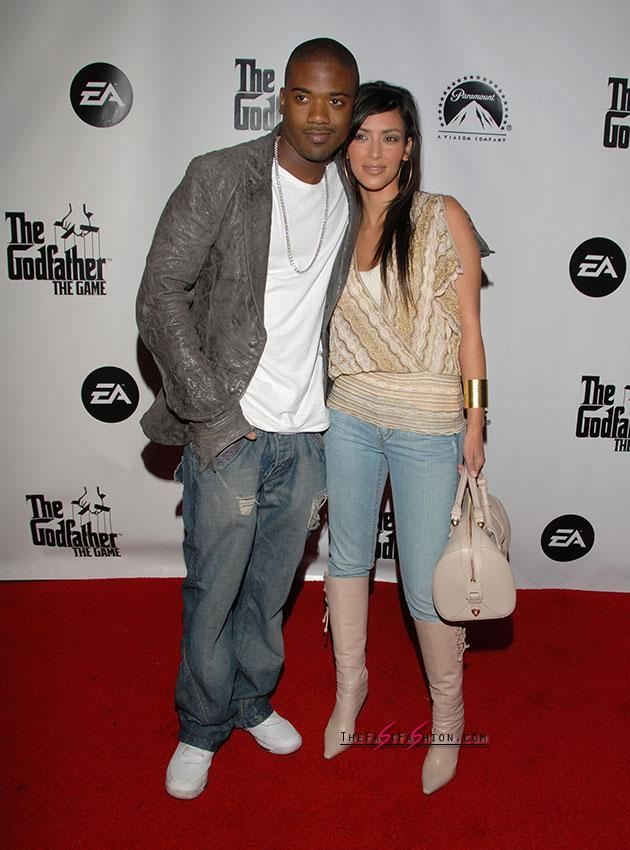 Kim and Ray J in happier times. Source: Getty