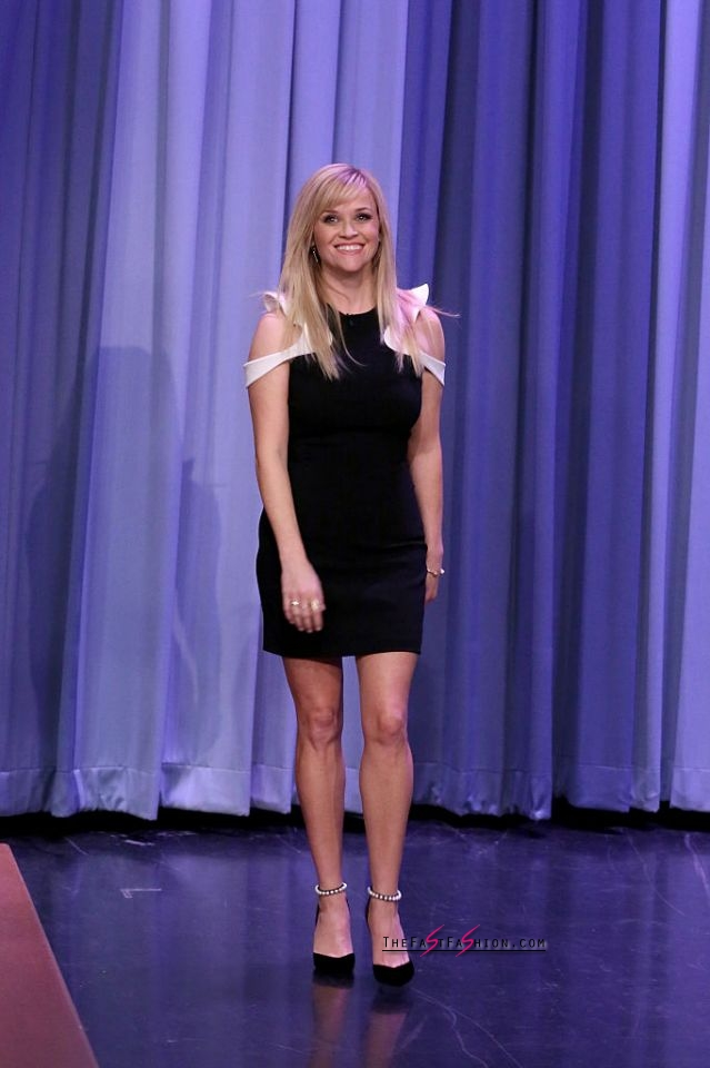 Reese Witherspoon in Mugler Spring 2017 RTW