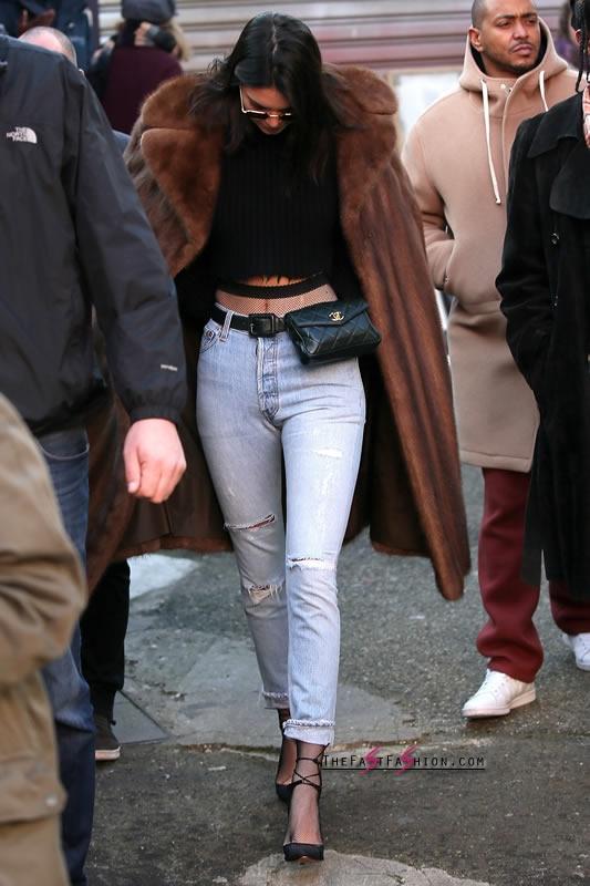 Kendall-Jenner-Jeans-Fishnet-Tights-Paris-Jan-2017 (7)