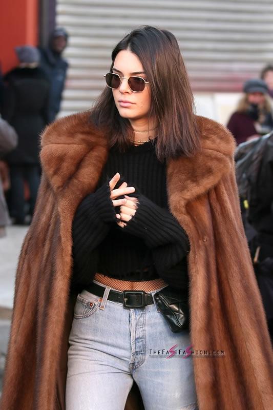 Kendall-Jenner-Jeans-Fishnet-Tights-Paris-Jan-2017 (8)