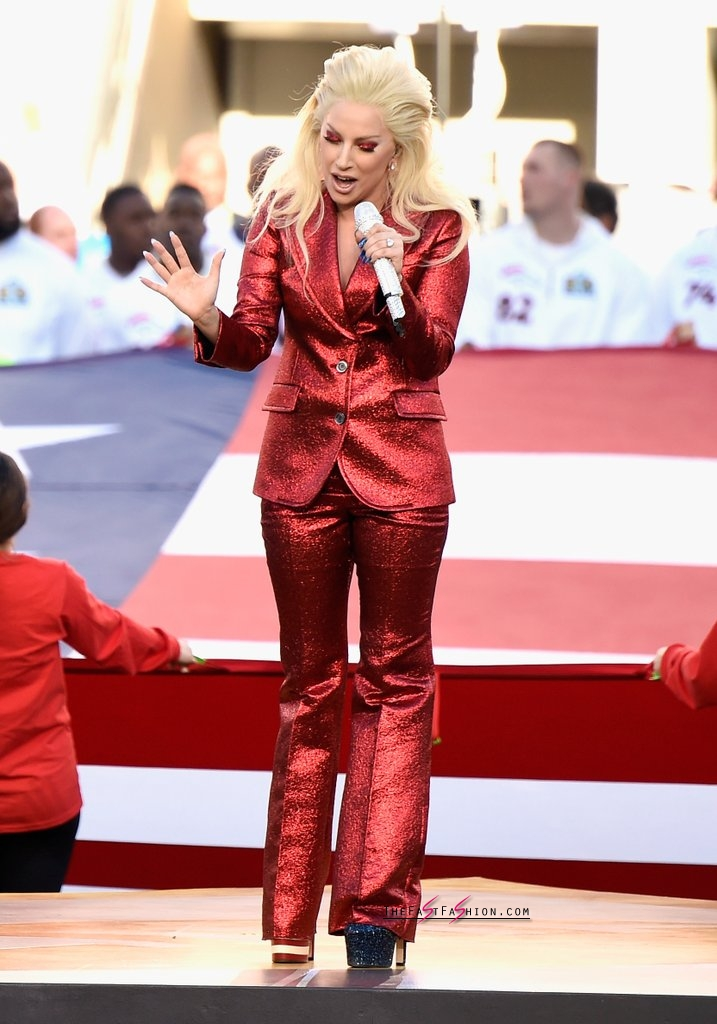 Lady-Gaga-Red-Gucci-Suit-Super-Bowl (7)