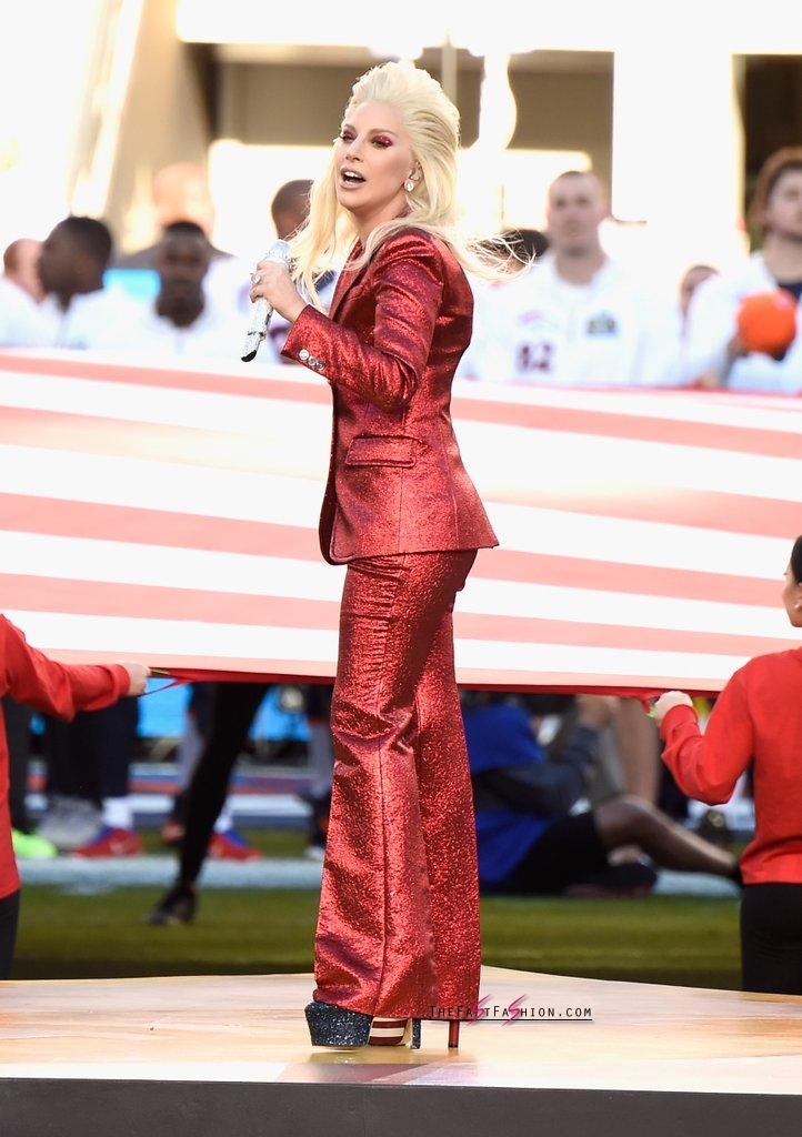 Lady-Gaga-Red-Gucci-Suit-Super-Bowl (8)