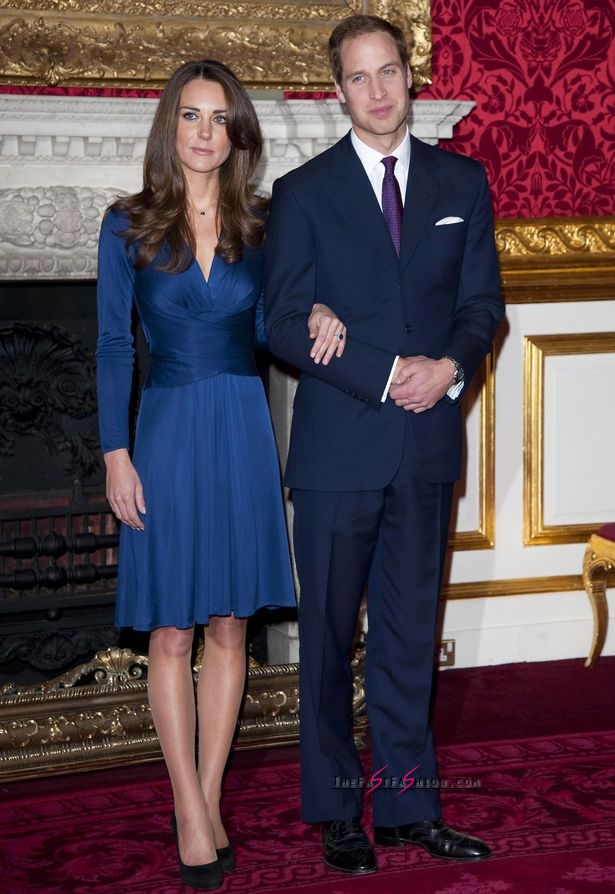 The Engagement of Prince William and Kate Middleton photocall at the State Rooms in St James's Palace on 16 Nov 2010