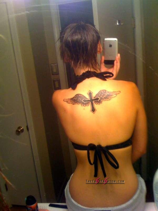 cross-and-agel-wings-tattoo