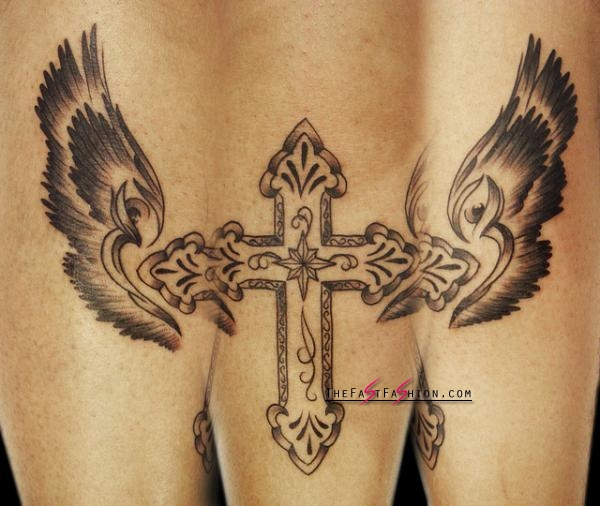cross-with-wings-tattoo