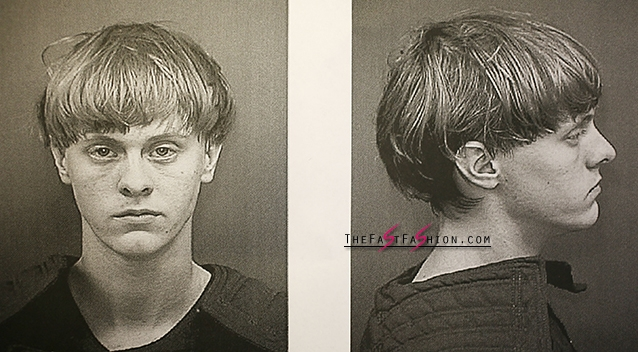 Dylann Roof's custody photos. Photo: Getty Images