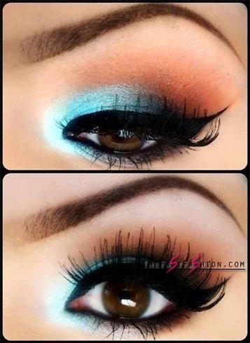 makeup-for-brown-eyes-april