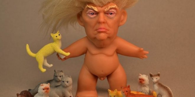 Fed-Up Artist Creates Very, Very, Very, Very NSFW Donald Trump Troll Doll