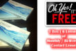 Free Disposable Contact Lenses 1 Box