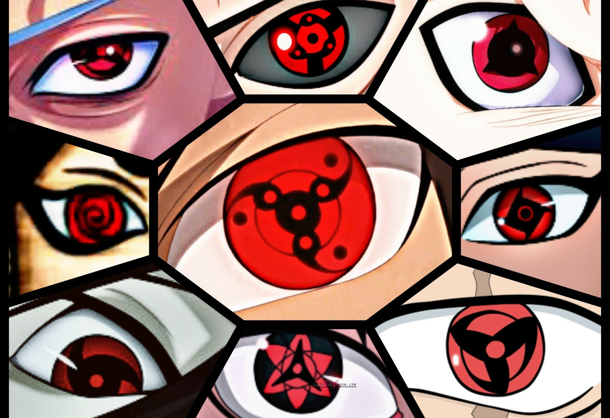 Mangekyou Sharingan Halloween Contacts You Need To Know ...