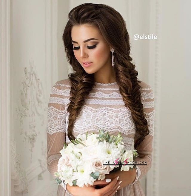 Stupendous Wedding Hairstyles Ideas 16 Bridal Hairstyles For Long Hair The Hairstyle Inspiration Daily Dogsangcom