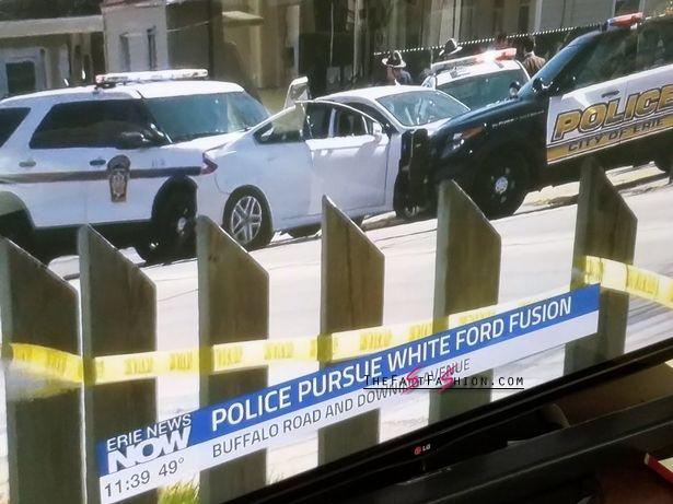 White Ford Fusion Stevie Steve >> McDonald's staff who helped police corner Cleveland Facebook killer Steve Stephens 'in line for ...