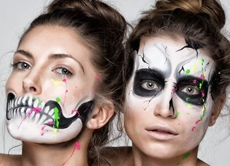 30 Halloween Makeup Ideas with Halloween Contacts You Need To Know