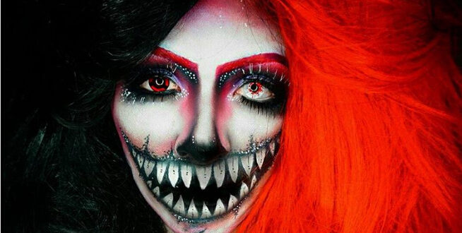 60 Scary + Sexy Skeleton Makeup Ideas You Can Try This Halloween
