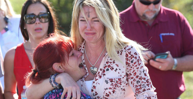 Florida school shooting suspect is 'troubled' former student obsessed with guns