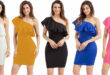 $9.99 One Shoulder Party Cocktail Mini Dress