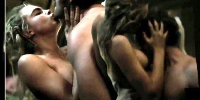 Cara Delevingne strips off naked and has breasts kissed and fondled in raunchy Tulip Fever sex scene