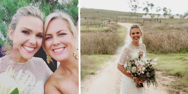 Inside Edwina Bartholomew's beautiful country wedding