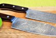 UBUTT DESIGN is proud to announce its newest creation: The Praetorian damascus knife series