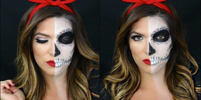 20 half and half halloween makeup ideas