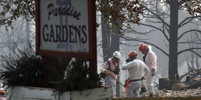 Camp Fire Death Toll Climbs To 76 As Missing Person List Swells To Almost 1,300