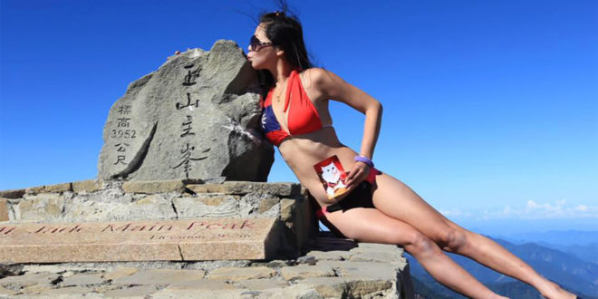 'Bikini Climber' freezes to death after massive fall