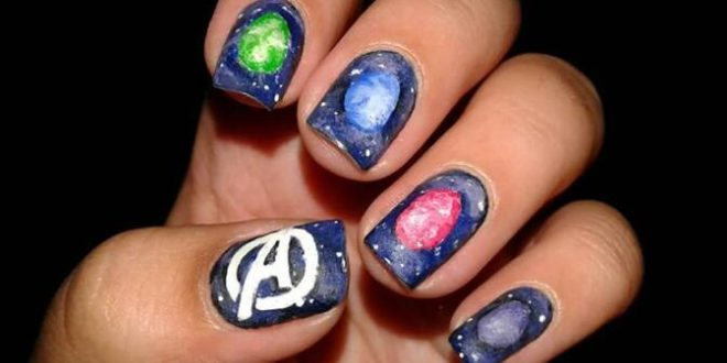 30 Endgame Nail Art Ideas That Put the Marvel Universe at Your Fingertips