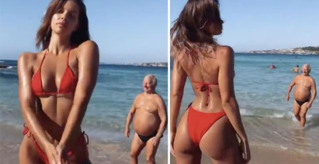 Big mystery behind model's bikini snaps answered