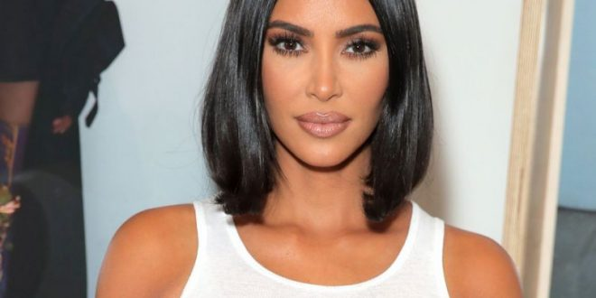 "Kim Kardashian Tries ""Frosted Brown"" Hair For Summer"