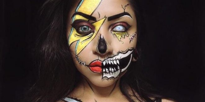 20 Scariest, Goriest Halloween Costumes Using Makeup