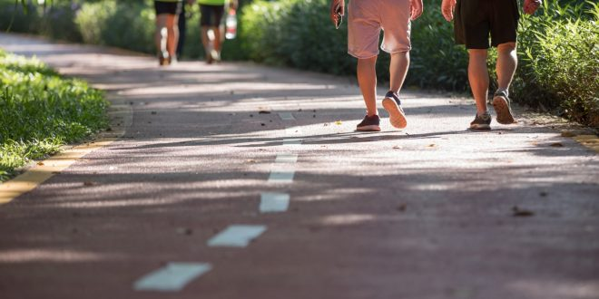 How Walking Helps to be Free of Excess Belly Fat