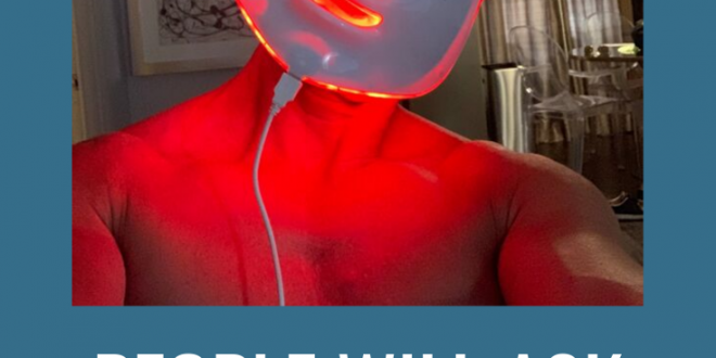 Lux LED Face And Neck Rejuvenator, A Futuristic Approach To Anti Aging