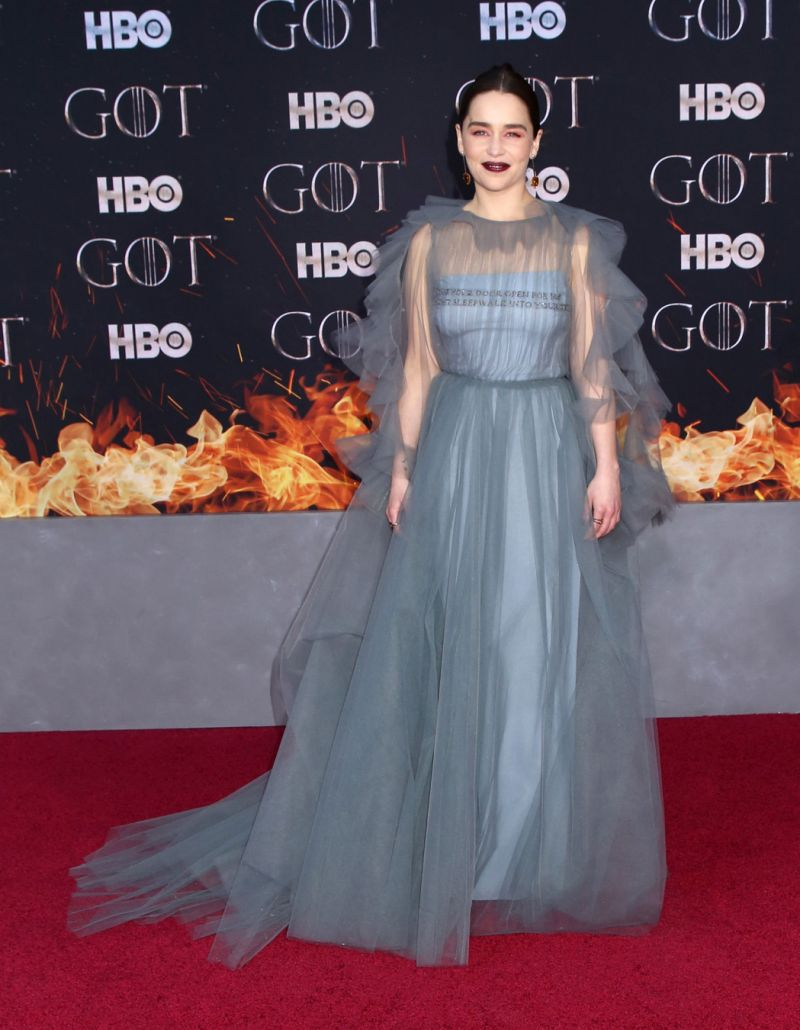 Game Of Thrones star Emilia Clarke says she was guilt