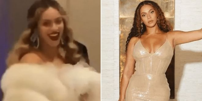 Beyoncé wears 'billion-dollar' clutch to Jay-Z's gala