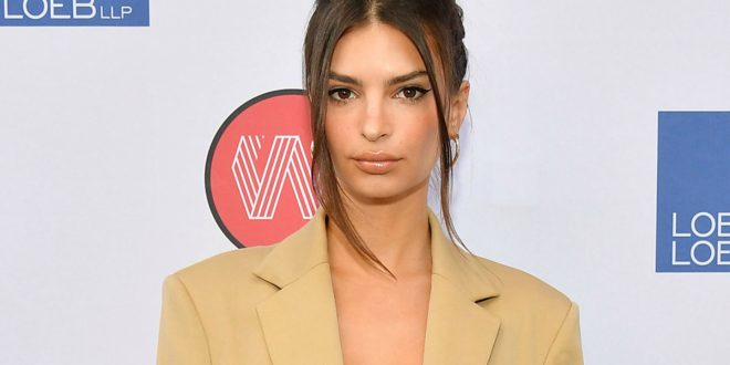 Emily Ratajkowski designed this suit to be NSFW