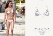 Pippa Middleton hits the beach in polka dot bikini