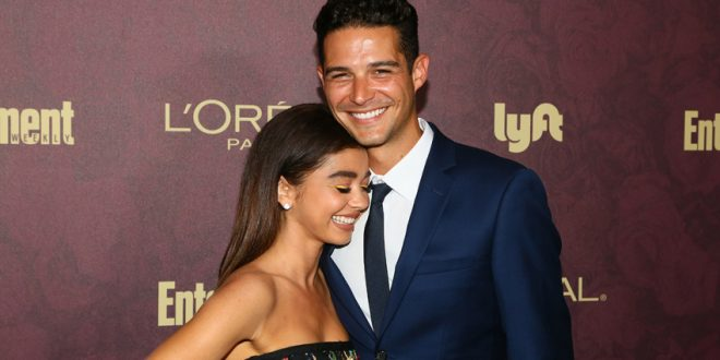 Sarah Hyland and Wells Adams Celebrate What Would've Been Their Wedding Day