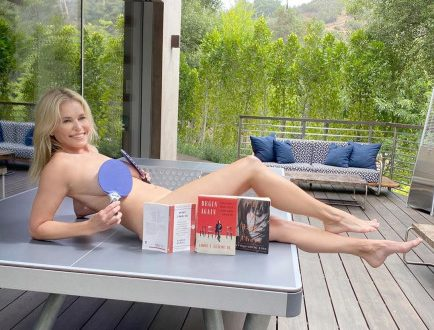 Chelsea Handler gets creative with her naked pictures in quarantine