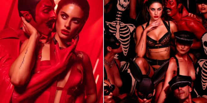 Underworld underwear: Kinky video ad sparks talk of Satanism