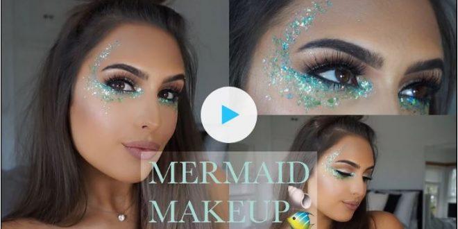 Mermaid Halloween Costume Makeup Tutorials
