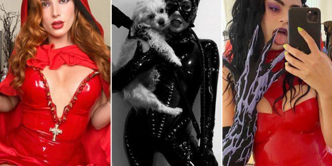 8 best celebrity Halloween costumes of 2020