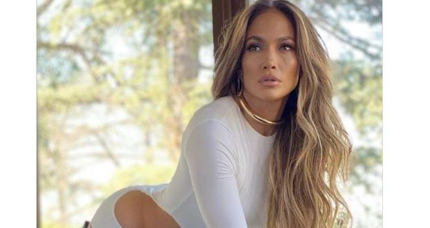 Jennifer Lopez is white hot in sexy cutout dress