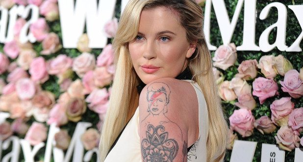 Ireland Baldwin shows off new butt tattoo in bikini photo