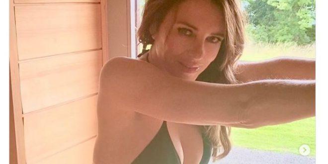 Elizabeth Hurley Flaunts Her Favorite Bikini on Instagram