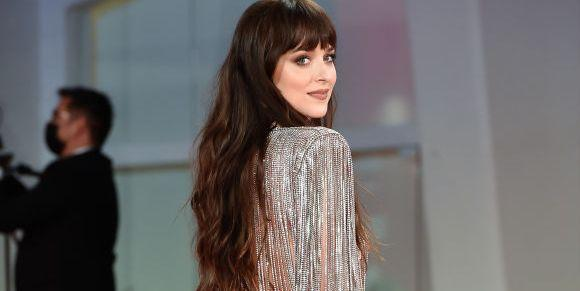 Dakota Johnson's Butt Is A 🍑 In A Sheer Gown At The Venice Film Festival